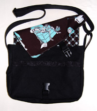 Chaco Messenger Bag with Reversible Flap