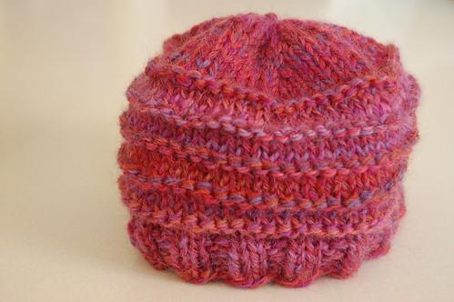 pink hat lila