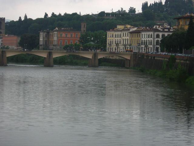 フィレンツェの橋のフリー写真素材