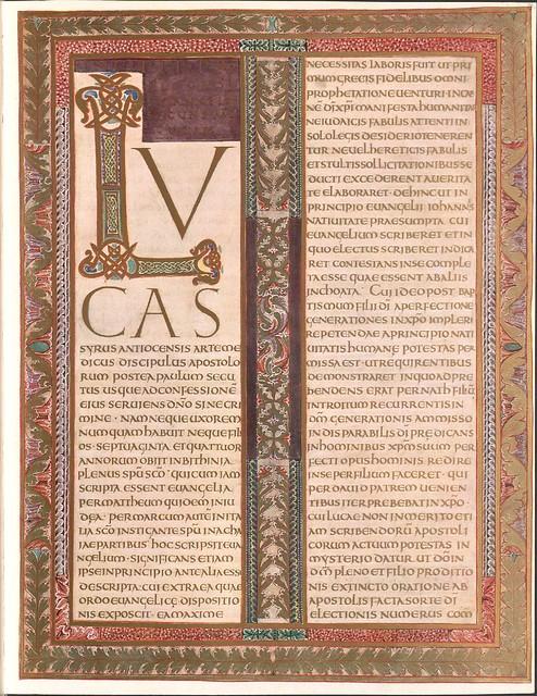 Evangeliar (Codex Aureus) - BSB Clm 14000 v