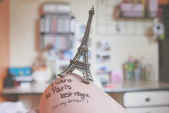 39/365 I went to Paris (Honey Pie!) Tags: paris france handwriting bedroom room eiffeltower dream frana days honey toureiffel torreeiffel quarto 365 ameliepoulain knee sonho joelho letra poulain amliepoulain 365days 365daysproject 365dias 365daysofhoney