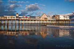The Pier Reflected (Vicki Lund Photography) Tags: ocean travel winter vacation sky usa tourism water colors reflections geotagged coast landscapes nikon artist raw photographer seascapes natural fineart maine newengland favorites naturallight atlantic maritime northamerica nautical portfolio february eastcoast freelance oldorchardbeach oob stumbleupon madeinamerica thepier 2011 freelancephotographer d90 fineartprints nikond90 newenglandfallfoliage mainephotographer fineartlandscape newenglandphotography vickilundphotography colorsnatural fineartseascapes copywrite wwwvickilundphotographycom httponfbmevickilundphotographywelcome vickilund madeinmaine