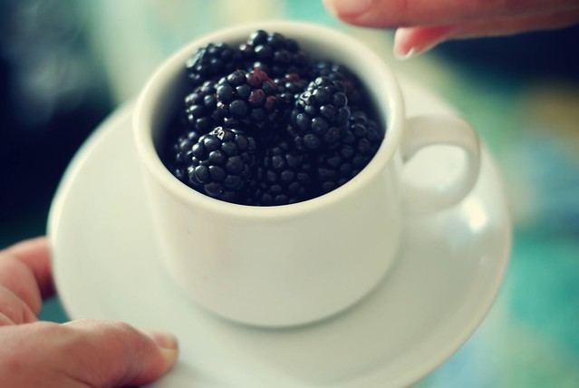 A Cup of Boysenberries