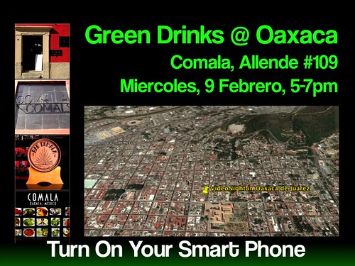 Green Drinks in Oaxaca