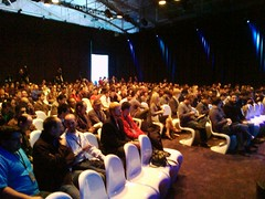 Crowd at the #thinkbeyond dev event!