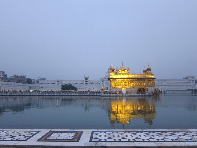 Golden Temple, early morning