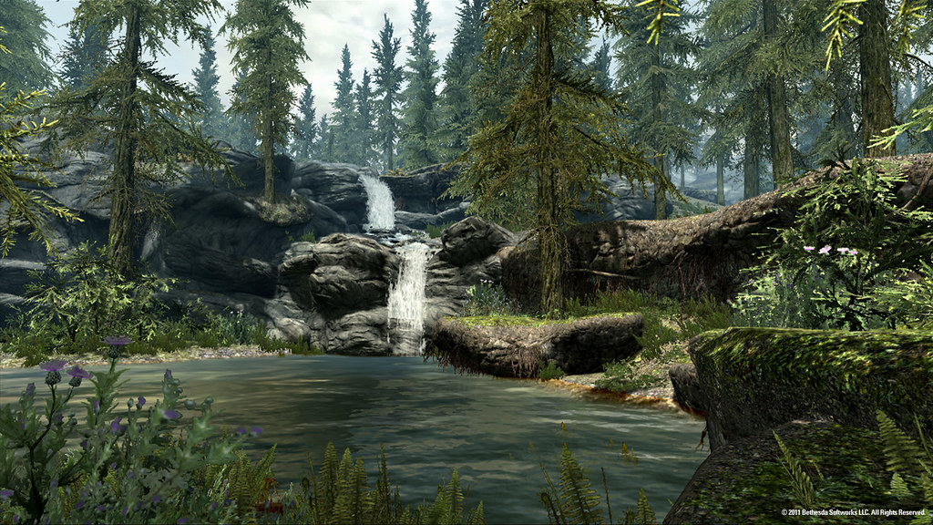 More environments from Skyrim
