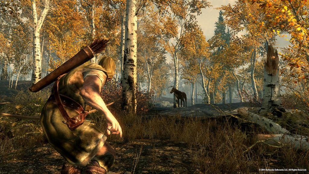 Hunting deers
