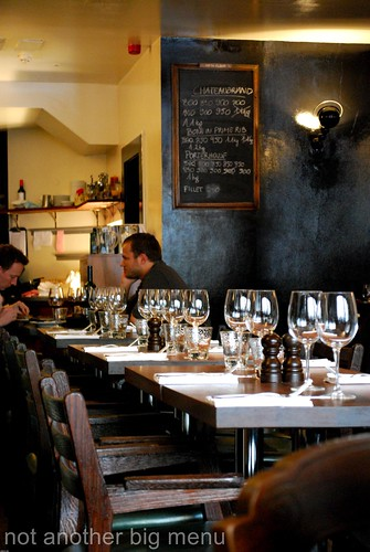 Hawksmoor, Spitalfields - Restaurant interior