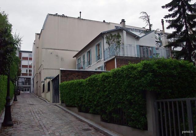 Villa Amélie, petite rue aux maisons individuelles