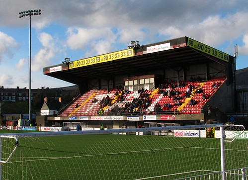 Seaview Stadium Main Stand