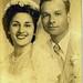 Angelita Hinojosa-Champion and Frank Clarence Champion Sr. B-10-6, son of Pablo Champion. May 25th 1950. (Courtesy of Anna Maria