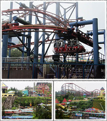 Fun at the Outdoor Theme Park, Resorts World Genting