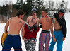 (LakeRidge Photography) Tags: winter shirtless music ski love smile tongue tattoo laughing fun snowboarding cool peace skiing mask teeth awesome guys off lips retro resort topless rails tatoo lakeridge