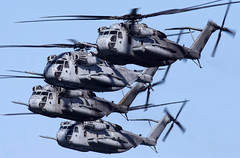 CH-53E Super Stallions (mvonraesfeld) Tags: california ca usmc centennial flying sandiego aviation military flight navy formation northisland marines coronado naval usn nas sikorsky nasni 2011 superstallion cona img0846 ch53e