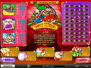 free Thrill Seekers slot mini symbol