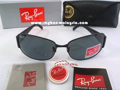 RB 3332 Black Polarized