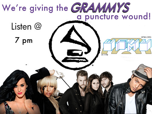 We're giving THE GRAMMYS a Puncture Wound!