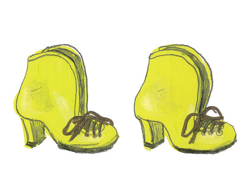 Chartreuse Shoes