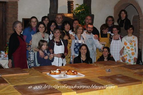 Foto di gruppo - corso cucina