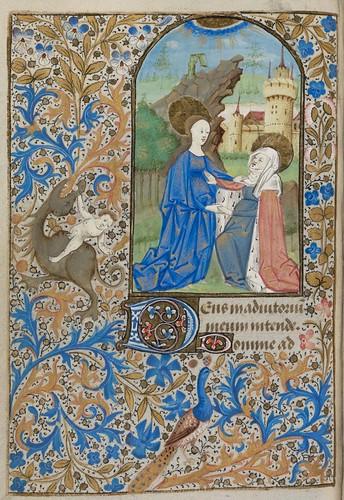015- Ms. lat. 33- ©Genève, Bibliothèque de Genève- livre d'Heures à l'usage de Paris-f 45v