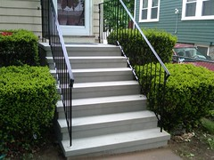Stucco Steps