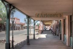 Downtown Tombstone (Brazilfox) Tags: arizona usa history geotagged tombstone fremontstreet wildwest hdr photomatix tonemapped