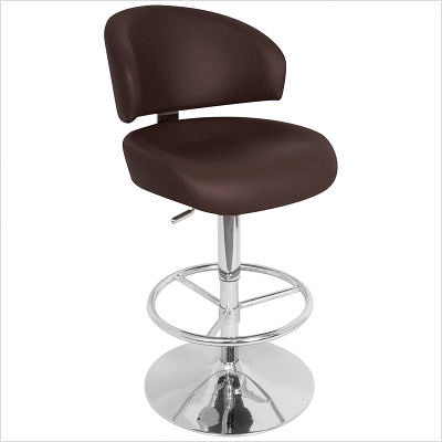 Regent+33'+Bar+Stool+in+Brown