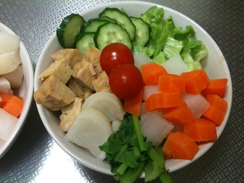朝食サラダ(2011/2/21)