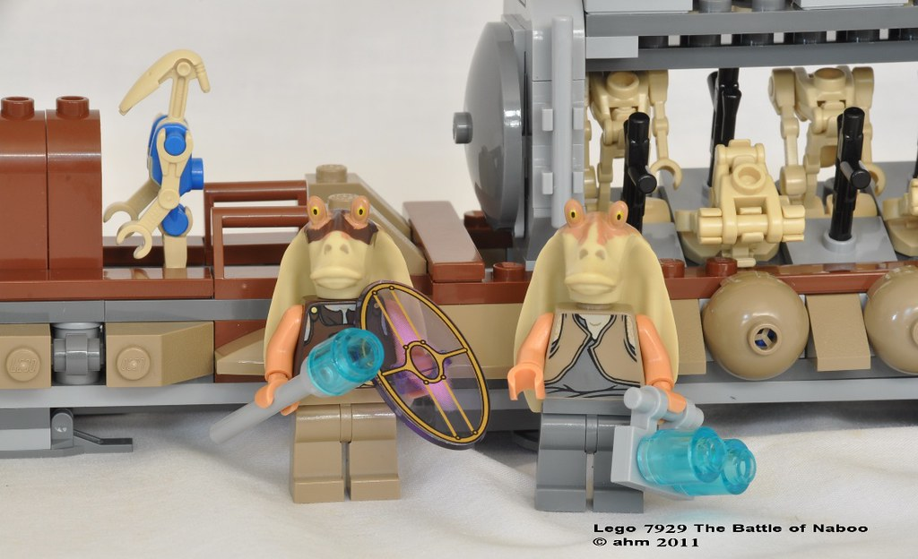 Star Wars Lego 7929 The Battle of Naboo