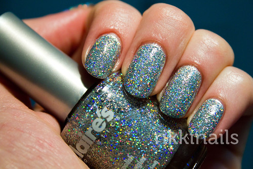 Claire's Glitter Top Coat