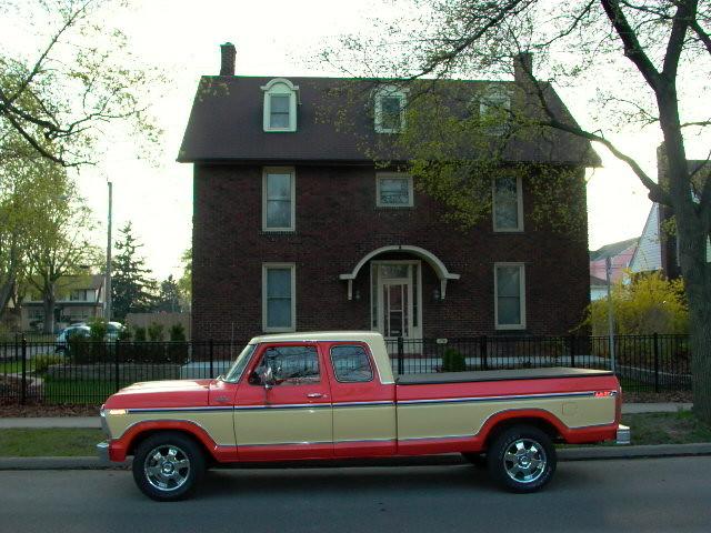 ford ranger 1978 supercab