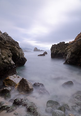 Big Sur II (andreaskoeberl) Tags: california longexposure coast nikon rocks stones tripod bigsur shore nd 1685 d7000 nikond7000 filterwatersilky waterseascapenature1685nikon andreaskoeberl