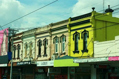 Buildings on Sydney Road, Melbourne