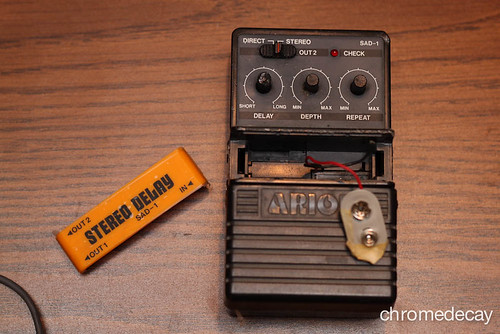 Arion SAD-1 analog delay: before repair