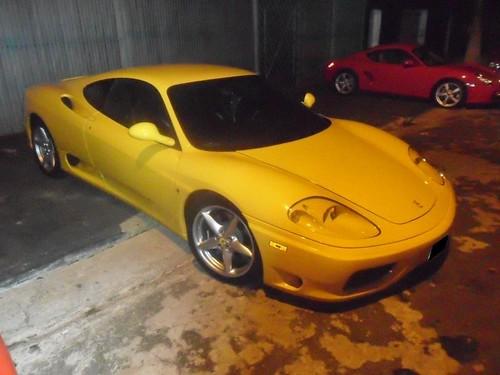 Ferrari 360 Modena Interior. FERRARI 360 MODENA E PORSCHE