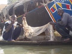 deux pêcheurs de Mopti