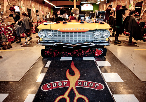 Chop Shop - Vancouver Rock n' Roll Hair Salon on Granville Street
