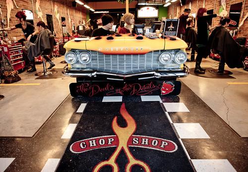 Chop Shop - Vancouver Rock n' Roll Hair Salon on Granville Street