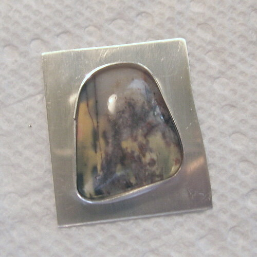 Picasso Jasper Monet Ring