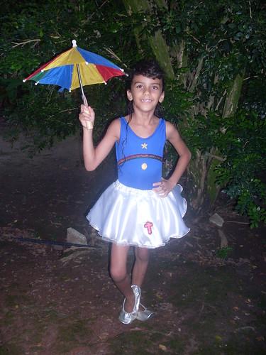 Passista de frevo - Bandeira de Pernambuco