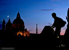 Backpacker Blues - Venice, Italy (BeersandBeans) Tags: venice summer italy church evening photograph gelato backpacker rtw piazzasanmarco saintmarkssquare travelphotography travelphoto veniceatnight nighttimephotos photosofitaly photosofvenice