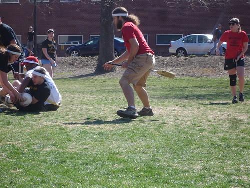 Quidditch Match: NCSU vs. ASU - Action Shot!