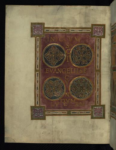 Corvey Gospel fragment