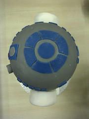 R2D2 Cake - Top