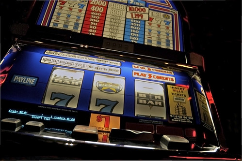 slot machine by doucettephoto