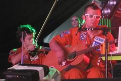 Rob Spaceman & helen @glastonburt club dada 2010 (spaceships are cool) Tags: spaceshipsarecool glastonbury2009