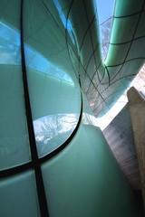 Fish (Bulsti) Tags: urban green station stair minimal architektur grn gruen innsbruck beton seilbahn hadid nordkettenbahn