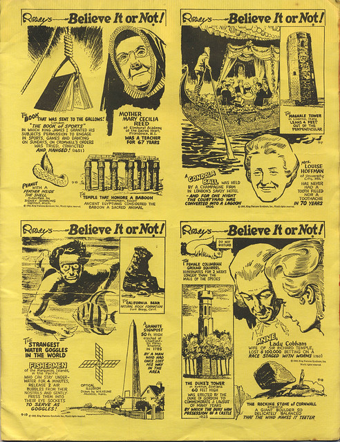 ripley's museum booklet