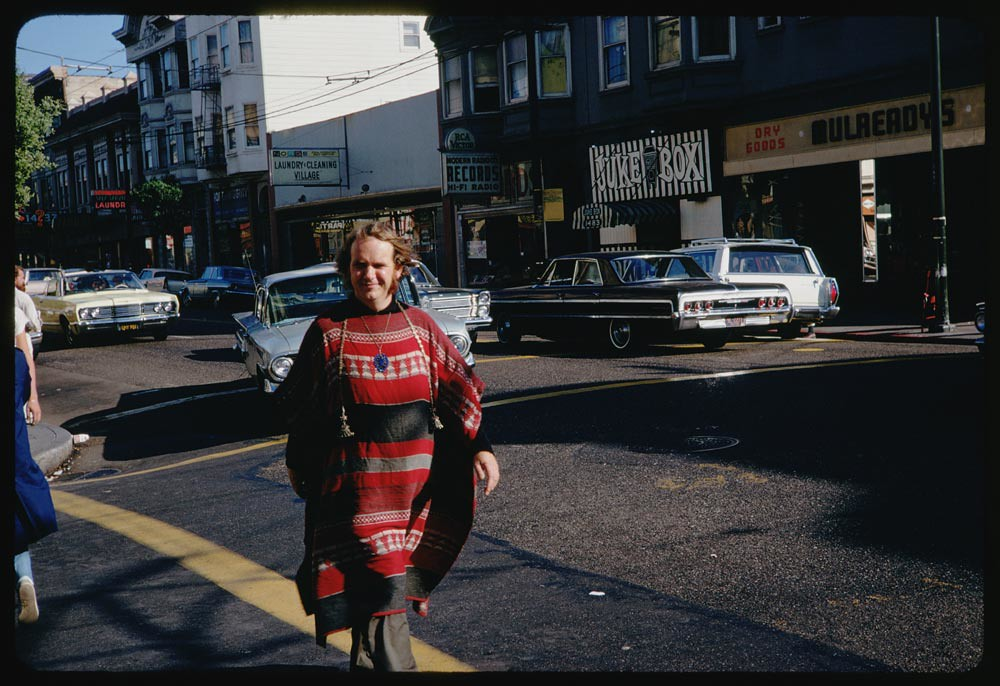 Haight Street Hippie - San Francisco, California